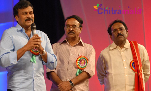 3 Writers For Chiru 150