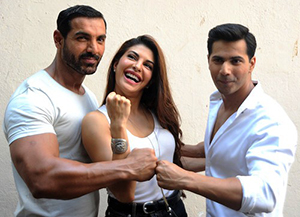A still from Dishoom