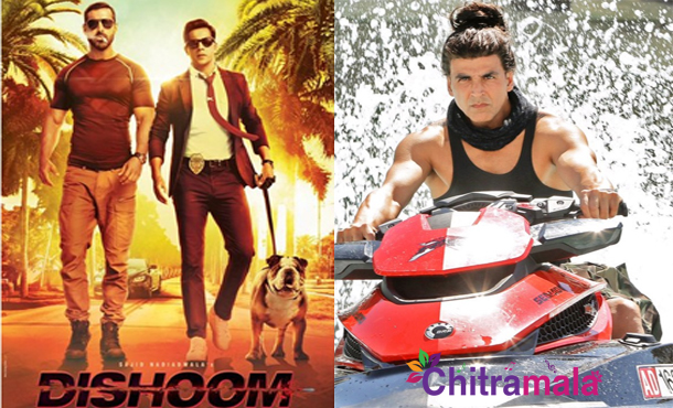 Akshay Kumar in Dishoom