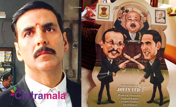 Akshay Kumar in Jolly LLB 2