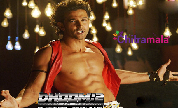 Hrithik in Dhoom 2