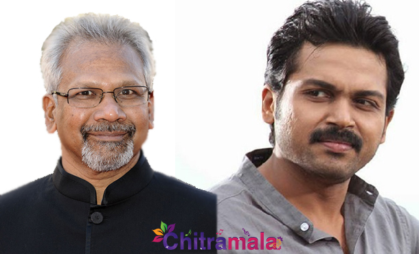 Mani Ratnam and Karthi in Ooty