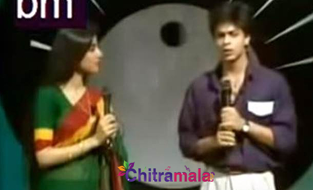 SRK as anchor in 1980's