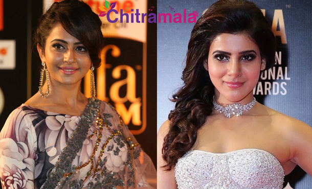 Samantha and Rakul Preet Singh