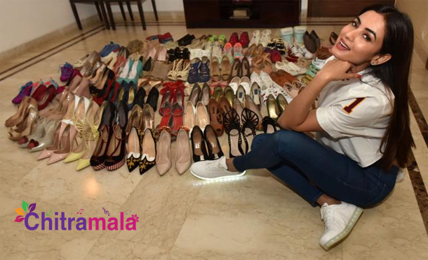 Sonal Chauhan shoes collection
