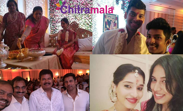 Vikram Daughter Engagement