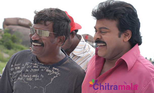 Chiranjeevi and Krishna Vamsi