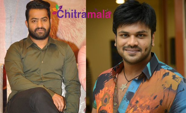 Manchu Manoj and Jr NTR