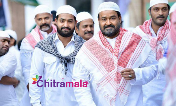 Mohanlal and Jr NTR