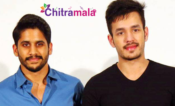 Chaitu and Akhil in Samantha Movie