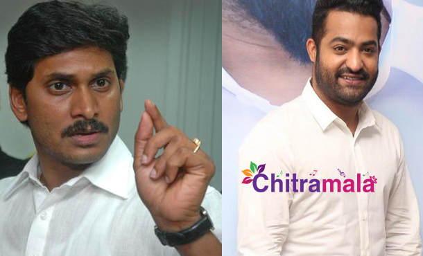 YS Jagan and Jr NTR
