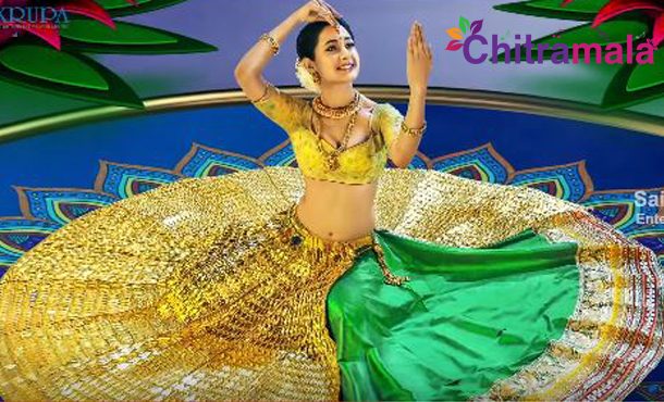Pragya Jaiswal First Look in Om Namo Venkatesaya