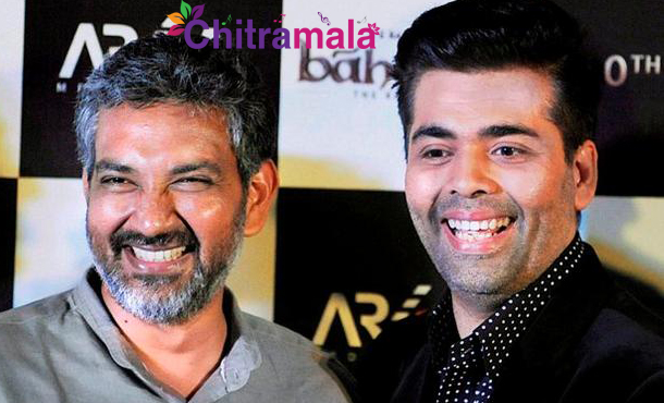 Rajamouli and Karan Johar