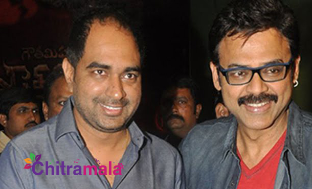 Krish with Venkatesh