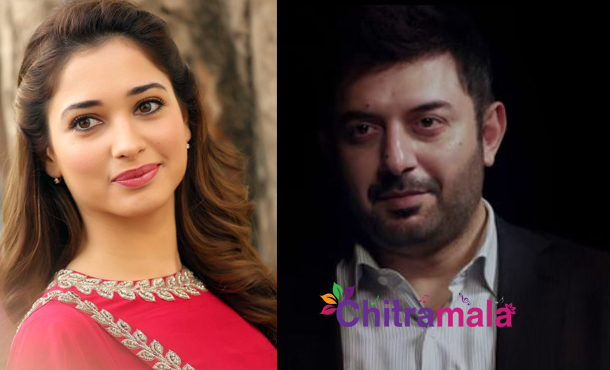 Aravind Swamy and Tamannah