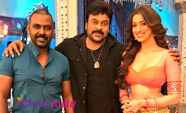 Chiranjeevi and Lawrence