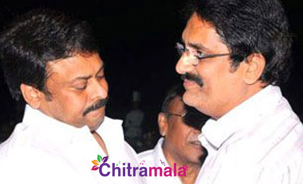 Chiranjeevi and Aswini Dutt