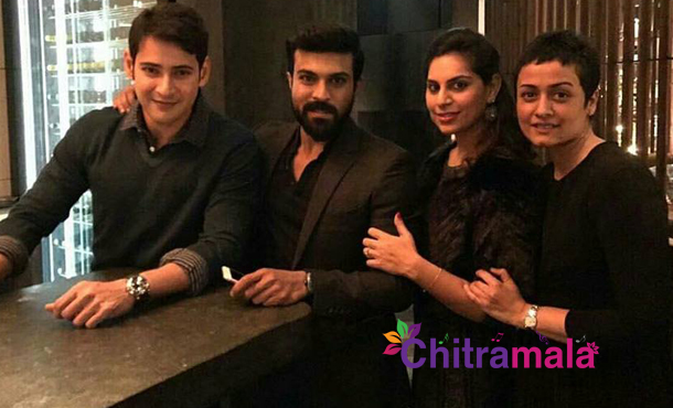 Mahesh Babu New Year Celebrations