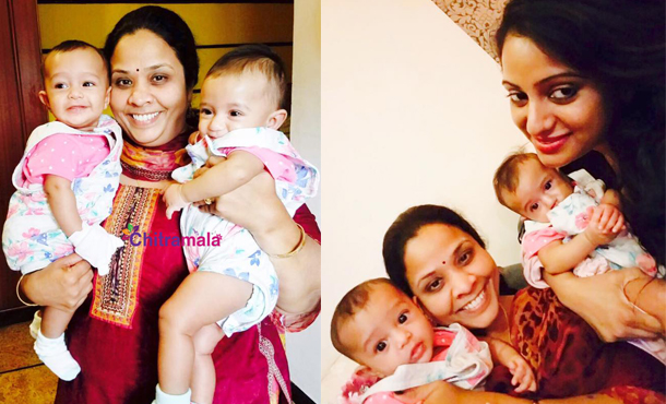 Udaya Bhanu Daughters Pics