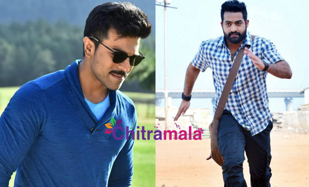 Ram Charan and Jr NTR