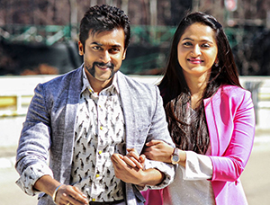 Surya and ANushka in Singam 3