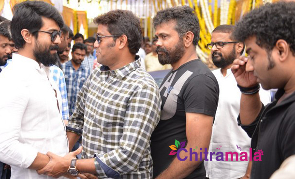 Ram Charan and Sukumar Movie Title