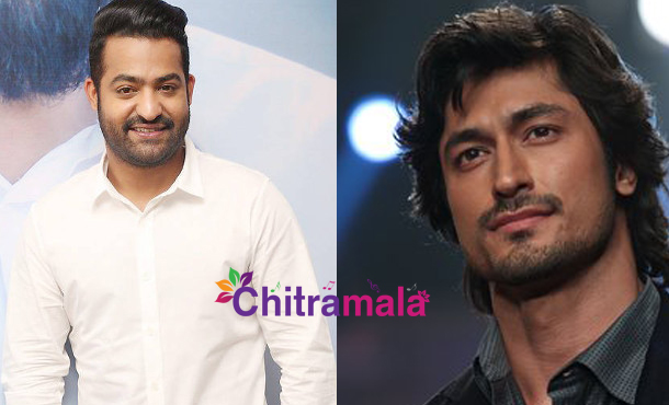 Jr NTR and Vidyut Jamwal