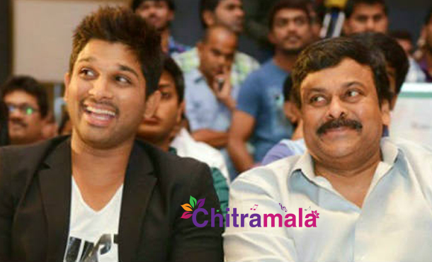 Chiru and Allu Arjun