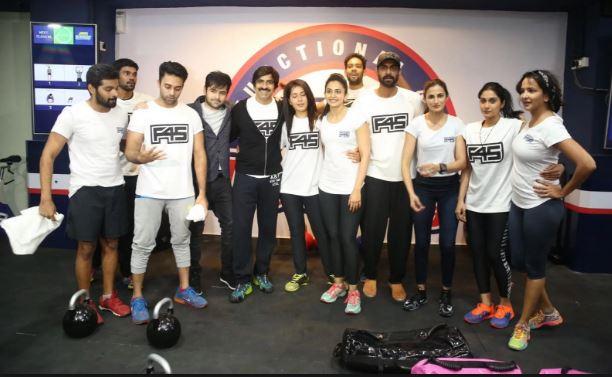 Rakul Preet Singh F45 Gym