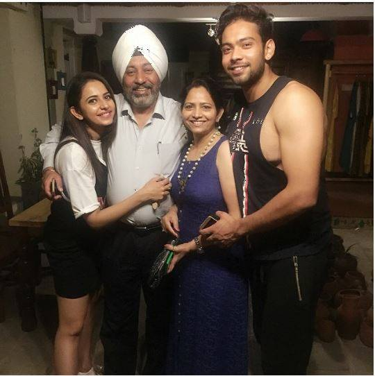 Rakul Preet Singh Family
