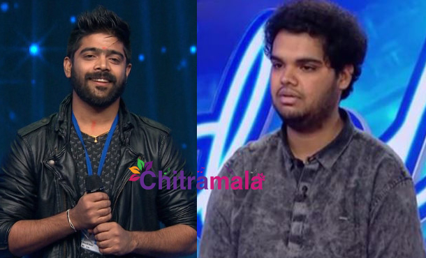 Singers Revanth and Rohit