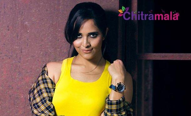 Anchor Anasuya in Ram Charan Movie