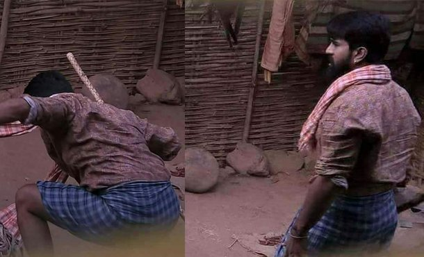 Ram Charan Leaked Pics from RC 11