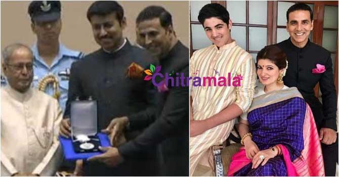 Akshay kumar First National Award