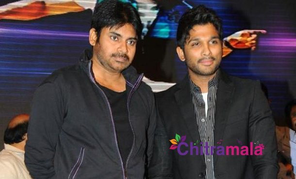 Allu-Arjun and Pawan-Kalyan