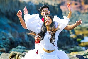 Rahul and Mahima Makwana in Venkatapuram