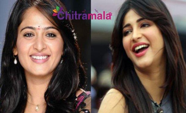 Anushka and Shruti