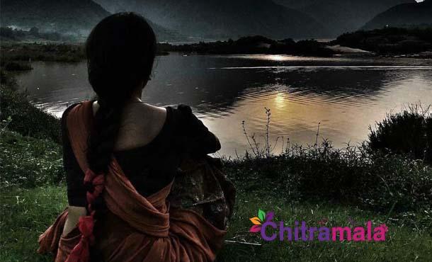 Samantha Pic From Rangasthalam Sets