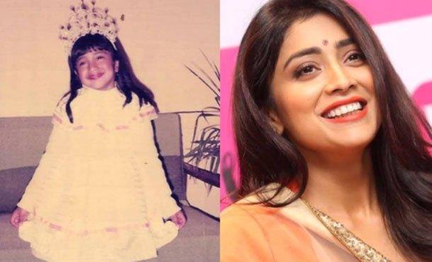 Shriya Saran-childhood pic