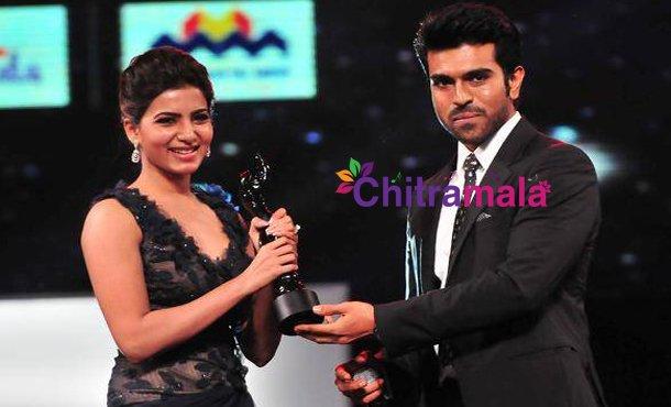 Samantha and Ram Charan