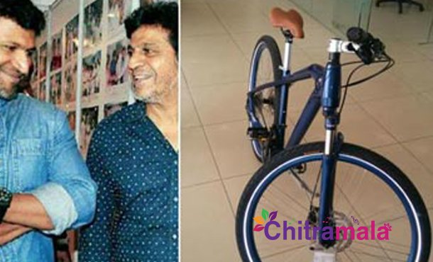 Star Hero Receives Costly Cycle As Gift