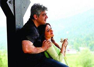 Ajith and Kajal in Vivegam