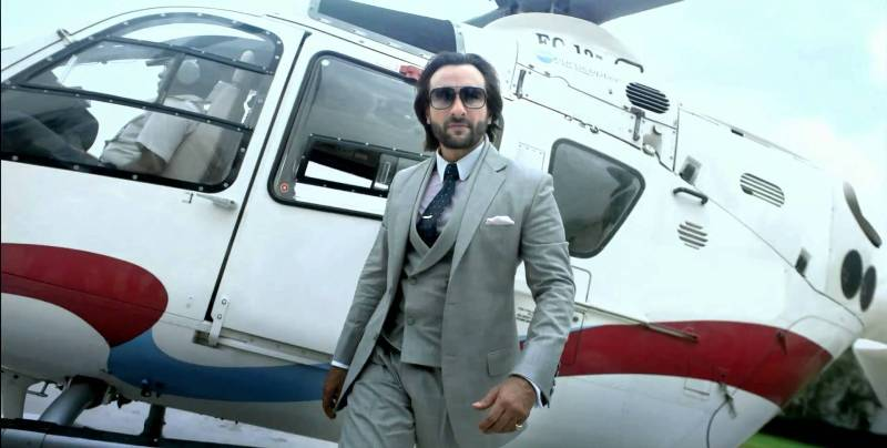 Saif Ali Khan-Private-jet