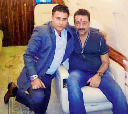 Sanjay Dutt-Private-Jet