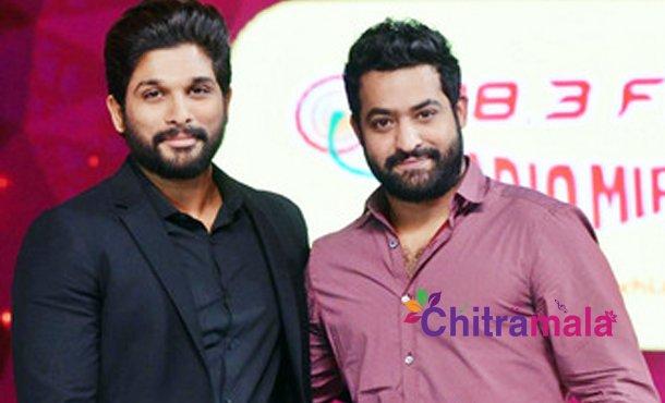 Jr NTR and Allu Arjun