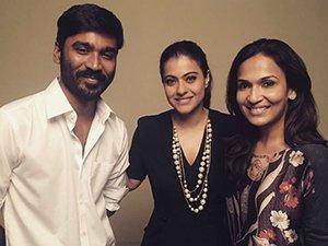 Dhanush and Kajol in VIP 2