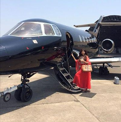 shilpa-shetty-and-raj-kundras-private-jet