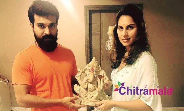 Cherry and Upsi send off to Ganesha