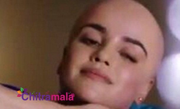 Dazzling beauty goes bald for her next film