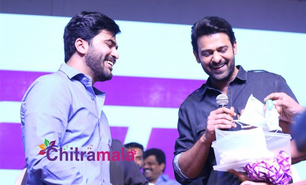 Prabhas  gift to Sharwanand